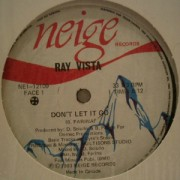 Ray Vista - Don't Let It Go