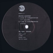 Donna Summer - State of Independence (No Drum Mix)
