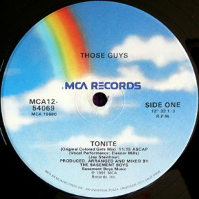 Those Guys - Tonite (Original Colored Girls Mix)